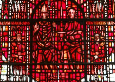 Thomas à Becket and St Paul
