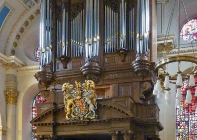 The Tickell organ 2010