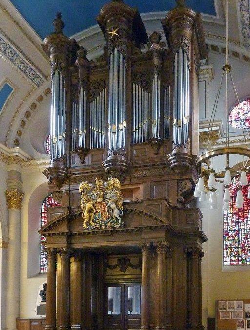 The Tickell organ 2010